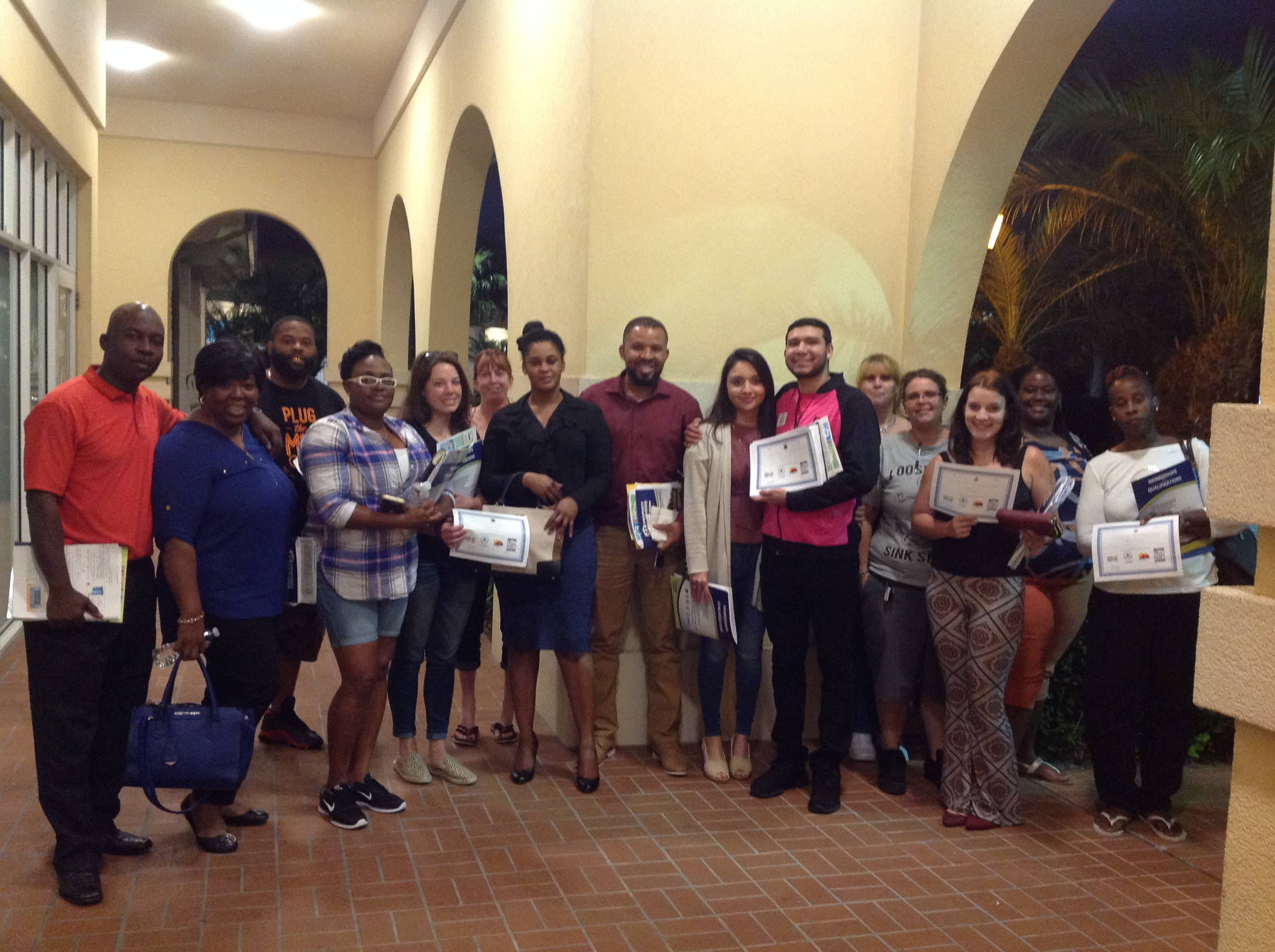 Congratulations to our students for completing the Home Buyer Education Course
