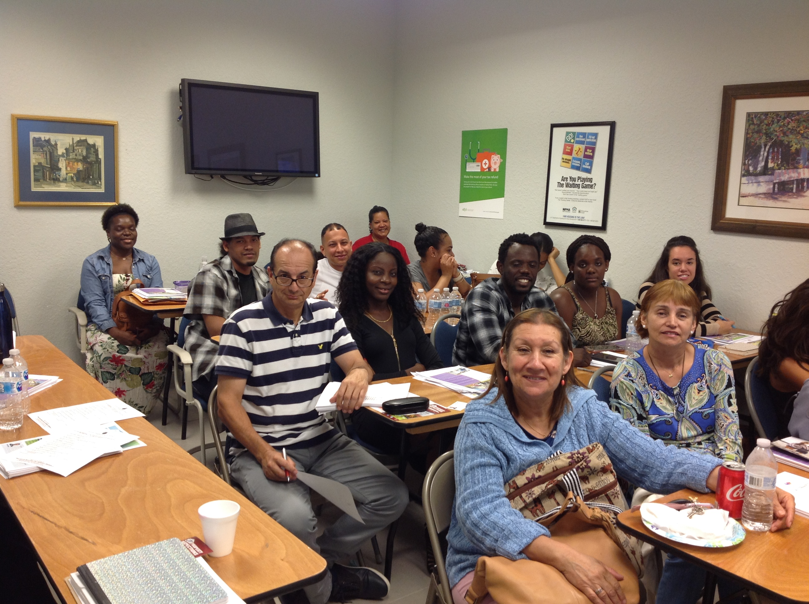 Every seat was filled in our First Time Homebuyer Class