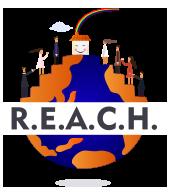 R.E.A.C.H. World Style Logo