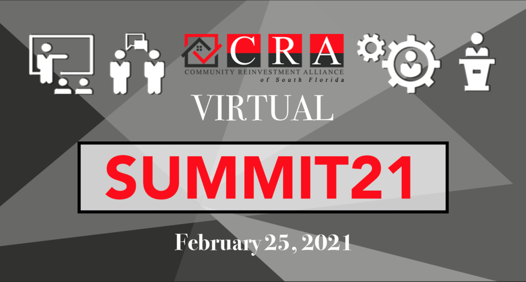"CRA Virtual ""Summit21"" February 25, 2021"